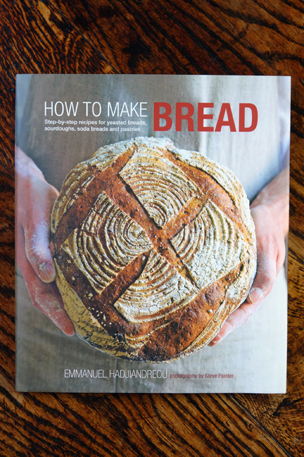 "cover of the ""How to Make Bread"" book"