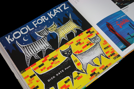 "Dick Katz ""Kool for Katz"" LP cover"