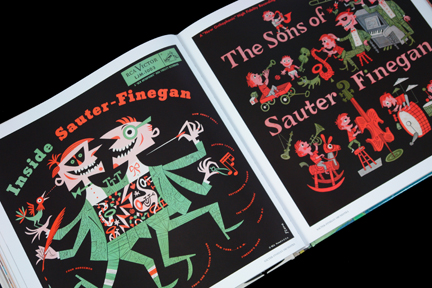 "Sauter Finegan ""Inside Sauter Finegan"" and ""The Sons of Sauter Finegan"" LP covers"