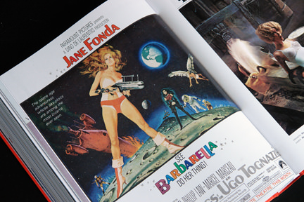 1950s advert for the film Barbarella