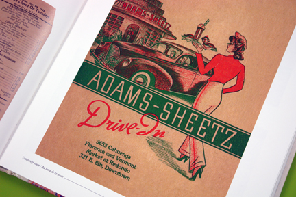 Adams-Sheetz Drive-in menu