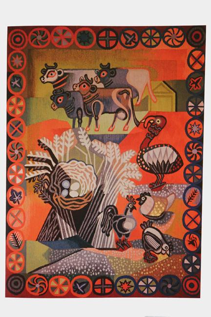 Edward Bawden tapestry