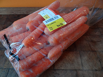 bag of carrots