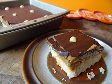 Cakes & Bakes: Nutty millionaire's shortbread