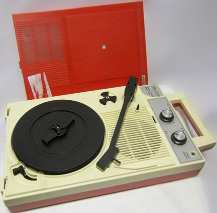 Columbia Portable Record Player being sold on eBay in support of Thames Hospicecare