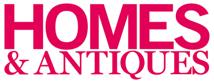 Homes and Antiques magazine logo