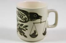 vintage Hornsea Pottery Libra mug
