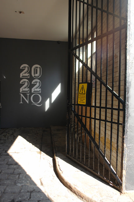 Entranceway to 2022NQ, Manchester