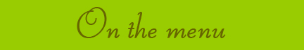 &quot;On the menu&quot; blog banner