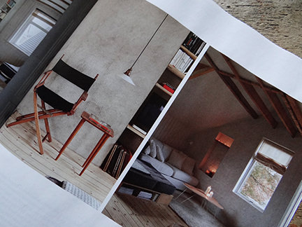 "seating in ""Simply Beautiful"" article from the February 2014 edition of Elle Decoration magazine"