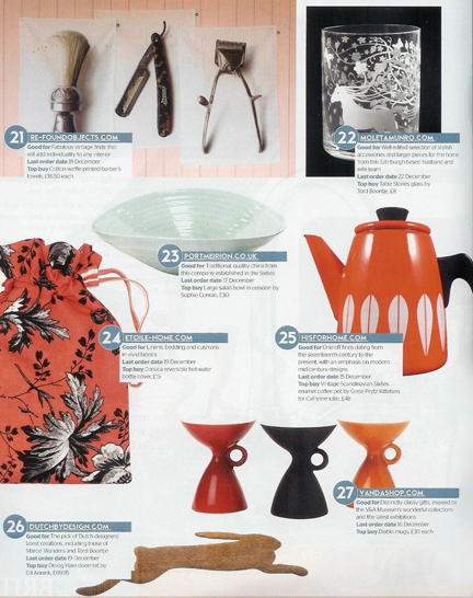 January 2009 Grand Designs Magazine clipping