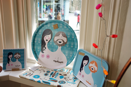 Blossom Bill homewares available from Radiance in Hebden Bridge