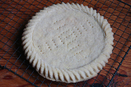 homemade shortbread round