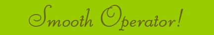 """Smooth Operator!"" blog post banner"