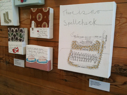 original canvas artworks by Kathryn Edwards available at Snug Gallery in Hebden Bridge