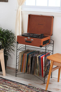 record stand available from Urban Outfitters