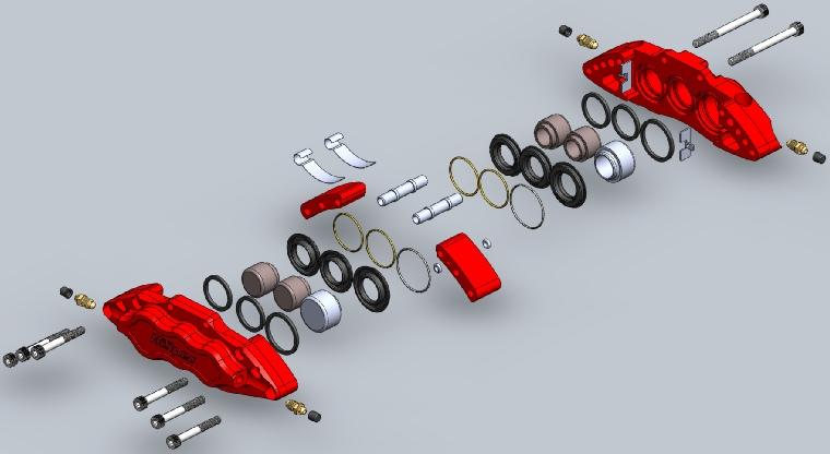 Caliper Components