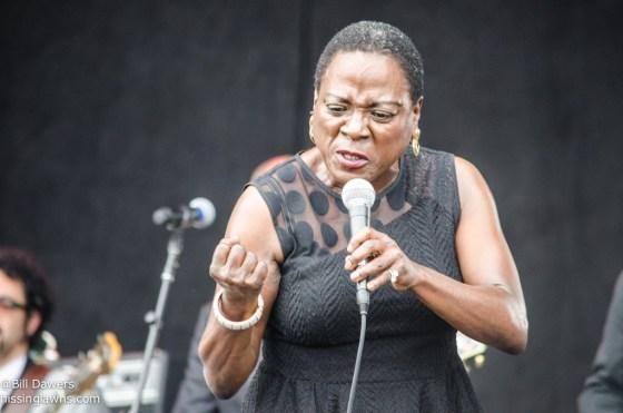 Sharon Jones & The Dap-Kings at Forecastle Festival 2014