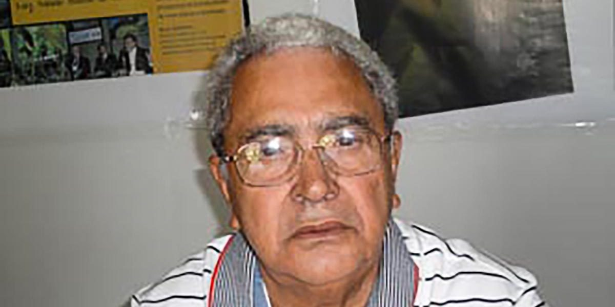Luiz Ferreira da Silva em dezembro de 2012