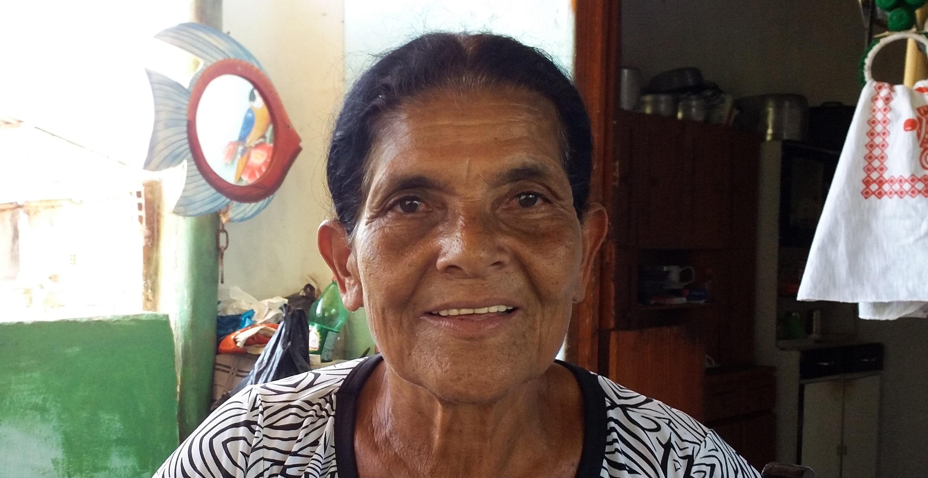 Dona Mocinha é patrimônio cultural da Barra de Santo Antônio