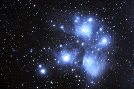 The origins of the Pleiades as told in Wyandot myth.