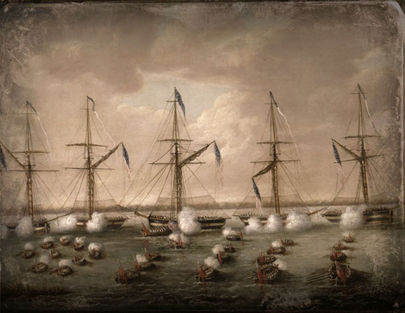 Battle on Lake Borgne