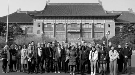 2015 02 07 Jiangwan tour-team photo-bw