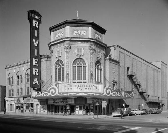 The Grand Riviera Theatre, Detroit Michigan