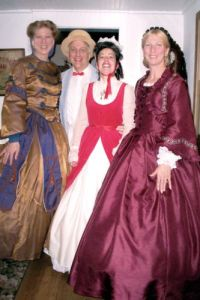 An image from the 2009 Union County Four Centuries event at the Osborn Cannonball House museum