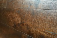 Wire-brushed White Oak Flooring - Historic Floor Company