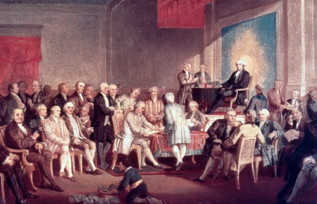 Constitution - HISTORY