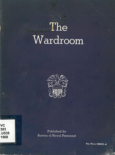 Wardroom NavPers 10002-A