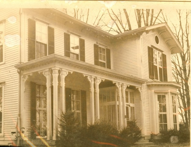 Our first house in Pewee Valley, KY