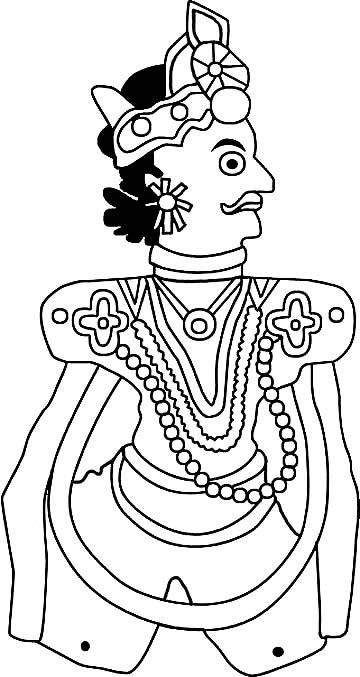 Civilizationca - India, the Living Arts - Activities - puppet templates