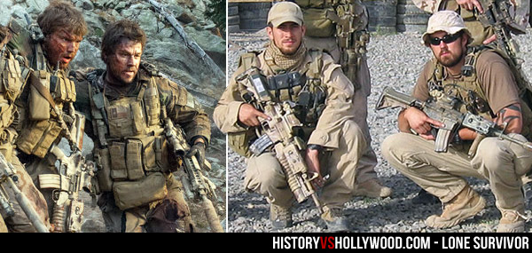 Lone Survivor True Story vs Movie - Real Marcus Luttrell, Mike Murphy