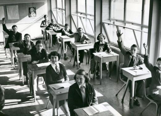 Blackwell Secondary Modern School. c1950. Crown copyright