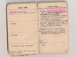Radical Objects: A Father's Diary from the End of the War