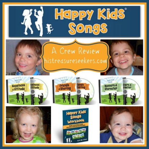 Happy Kids Songs Collage