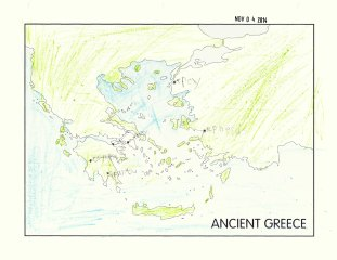 Ian's Map of Greece