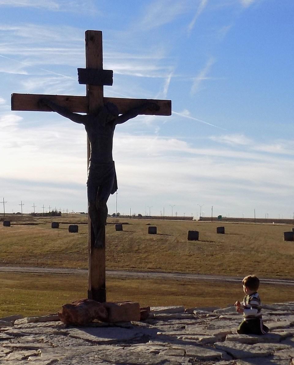 Nicholas Kneeling At the Cross