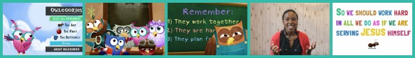 Owlegories Collage