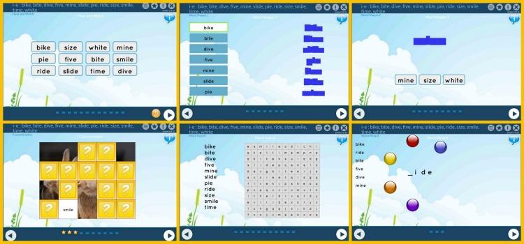 ESA Spelling Collage