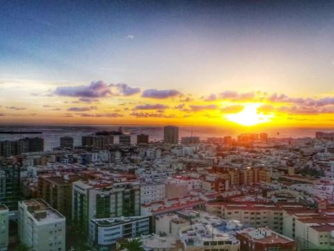 Las Palmas panorama Gran Canaria