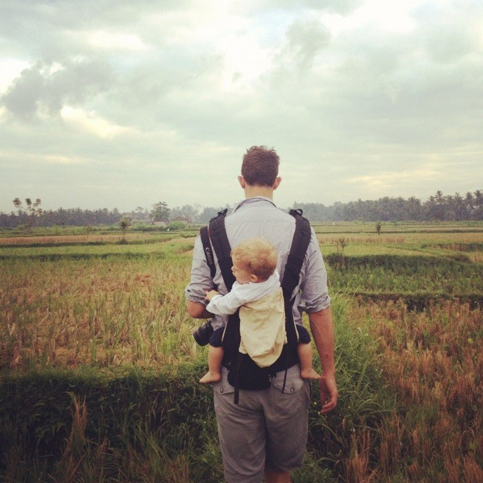 travel family  A first week postcard from Bali