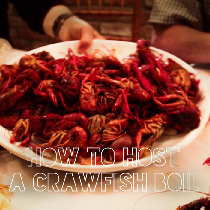 food drink  Hosting a Crawfish Boil