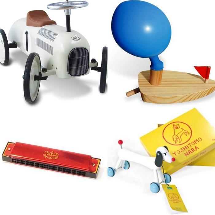 family  Vilac toys and Le Bon Marché