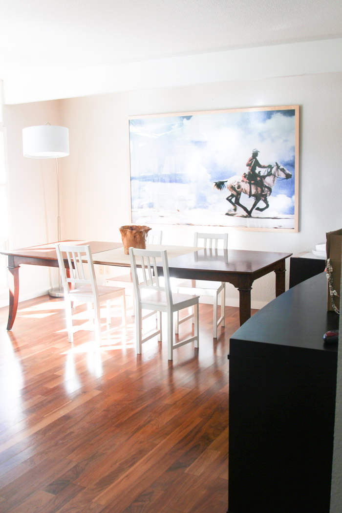 uncategorized home  Our Dining Room (& our dining room table search)