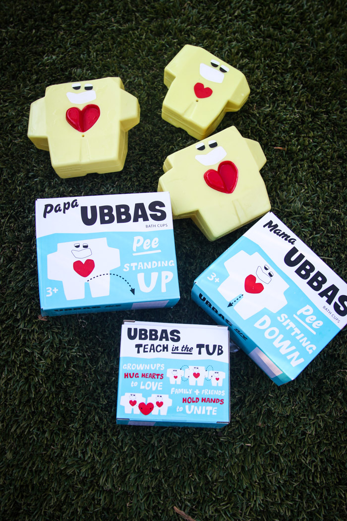 family  Ubbas Bath Cups (and a Giveaway!)