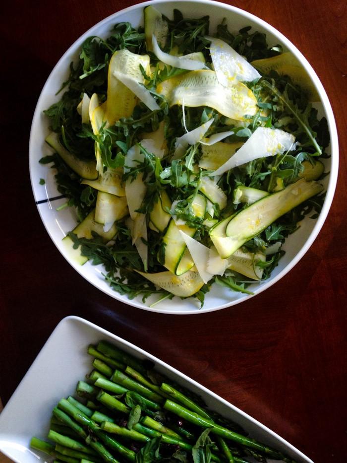 food drink  Easy Squash Salad for Summer