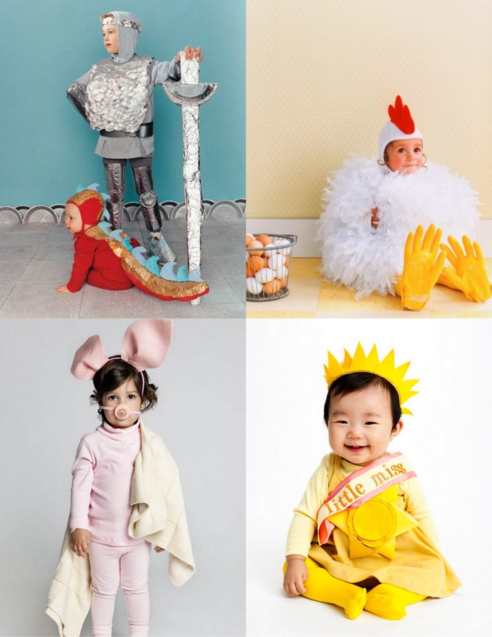family  The Best DIY Halloween Costumes for Kids